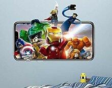 APXN IOSP Wandsticker Avengers Wandtattoo