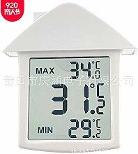 AQBOZ Indoor Digital Thermometer Hygrometer LCD