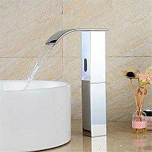 AQMMi Waschtischarmatur Wasserhahn Messing Sensor