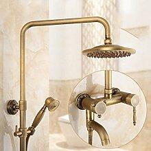 AQMMi Wasserhahn Bad Waschtischarmatur Messing