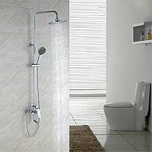 AQMMi Wasserhahn Bad Waschtischarmatur Regendusche