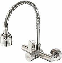 AQMMi Wasserhahn Küche Küchenarmatur 304