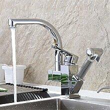 AQMMi Wasserhahn Küche Küchenarmatur Mit Einer