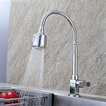 AQMMi Wasserhahn Küche Küchenarmatur Single Kalt