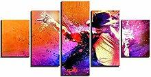 AQNY Plakatdrucke malerei modular leinwand Kunst 5