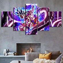 AQNY Wandkunst modular 5 Stück Leinwandbild