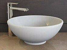 Aqua Bagno Design Keramik Aufsatz-Waschschale rund