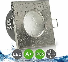 AQUA BASE IP65 1er Set ultra flach LED 5W = 50W