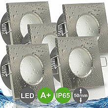 AQUA BASE IP65 5er Set ultra flach LED 5W = 50W