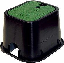Aqua control M115717–Quadratischer Verteiler für 1Magnetventil 21x 17,5x 18cm , c1900