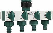 Aqua Control Wasserhahn-Adapter 4-Wege-Verteiler