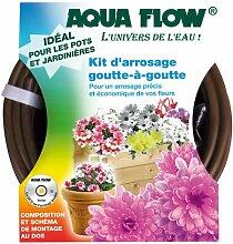 AQUA FLOW Komplettset Tropfenrinne Aquaflow