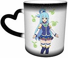Aqua Konosuba Anime Farbwechsel Sternenhimmel
