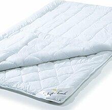 aqua-textil 4 Jahreszeiten Bettdecke 155x220 cm Steppdecke atmungsaktiv kochfest, Ganzjahres Steppbett für Winter und Sommer Soft Touch 0010578