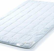 aqua-textil Sommer Bettdecke 200x200 cm leichte Steppdecke atmungsaktiv kochfest, Decke für den Sommer Soft Touch 0010568