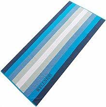 aqua-textil Wellness Saunatuch 80x200 Streifen