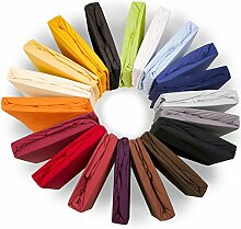 aqua-textil XL Spannbettlaken 200x220-220x240