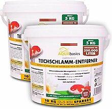 AQUAbasics Gartenteich Teichschlamm-Entferner baut