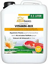 AQUAbasics Gartenteich Vitamin-Mix versorgt die