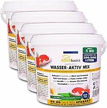 AQUAbasics Gartenteich Wasser-Aktiv Mix für eine