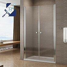 AQUABATOS® 100 cm Duschabtrennung Duschtür