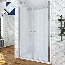 AQUABATOS® 110 cm Duschabtrennung Duschtür