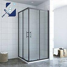 AQUABATOS® 80x80 x 195 cm Duschkabine Eckeinstieg