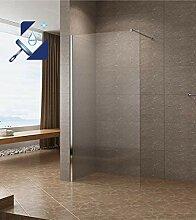 AQUABATOS® 90x200cm Walk In Dusche 10mm Duschwand