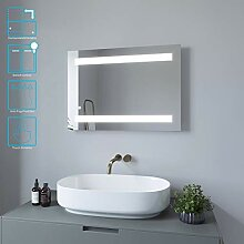 AQUABATOS Badspiegel LED Beleuchtung Wandspiegel