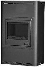 Aquaflam HSF29-004 wasserführender Kaminofen AQUAFLAM 25KW BASIC schwarz