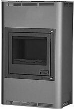Aquaflam HSF29-021 wasserführender Kaminofen AQUAFLAM 25KW BASIC grau