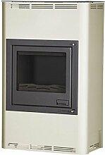 Aquaflam HSF29-033 wasserführender Kaminofen AQUAFLAM 25KW BASIC creme