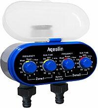 Aqualin Zwei Auslässe Kugelhahn Bewässerungsuhr