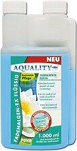 AQUALITY Fadenalgen-EX Flüssig für Ihren Gartenteich 1.000 ml (Flüssiger Fadenalgenvernichter, Algenmittel und Algenentferner für Ihren Gartenteich. Jetzt noch bessere Wirkung. Löst sich sehr schnell im Teich auf)