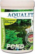 AQUALITY Fadenalgen-Minus 1.000 g für Ihren Gartenteich (Wirkt sofort, sicher, dauerhaft und gezielt gegen Fadenalgen. Zusätzlich wird die Wirkung mit Aktivsauerstoff unterstützt. Qualität direkt vom Hersteller – Fadenalgenmittel, Algenvernichter und Algenentferner für Ihren Teich)