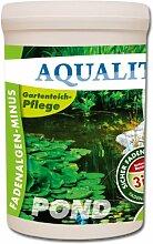 AQUALITY Fadenalgen-Minus 2.000 g für Ihren Gartenteich (GRATIS Lieferung innerhalb Deutschlands - Wirkt sofort, sicher, dauerhaft und gezielt gegen Fadenalgen. Zusätzlich wird die Wirkung mit Aktivsauerstoff unterstützt. Qualität direkt vom Hersteller – Fadenalgenmittel, Algenvernichter und Algenentferner für Ihren Teich)
