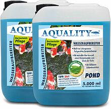 AQUALITY Gartenteich 3in1 Wasseraufbereiter (Macht