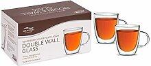 Aqualogis doppelwandig Thermo Isoliert Glas - Tee