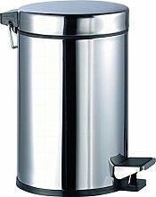 Aqualy®–Eimer Pedal Inox (3Liter)