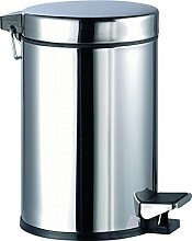 Aqualy®–Eimer Pedal Inox (5Liter)
