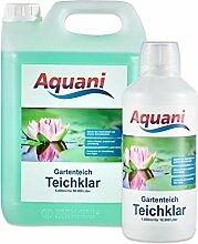 Aquani Teichklar 1000ml Algenmittel gegen grünes