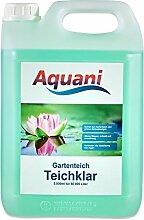 Aquani Teichklar 5.000ml Algenmittel gegen grünes