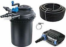 AquaOne Teich Filteranlage Set Nr.19 CPF 10000