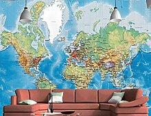 Aquarell karte dekoration tapete tv hintergrund