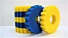 Aquaristikwelt24 Ersatzschwämme Druckteichfilter