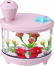 Aquarium USB Nachtlicht Luftbefeuchter Mini