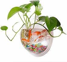 Aquarium Wasserpflanze Glasbecher Glasvase Topf