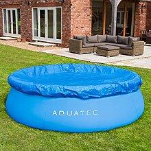 AQUATEC robuste Pool Abdeckplane - 3 Größen |