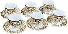 Arabisch/türkische Kaffee-/Espresso-Tassen/-Becher