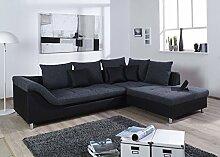 ARBD Couchgarnitur Delta L-Form Schlaffunktion